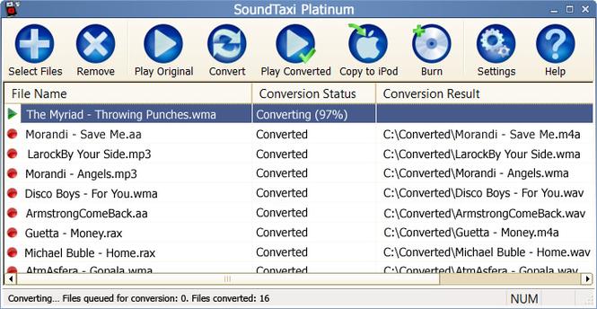 SoundTaxi Screenshot