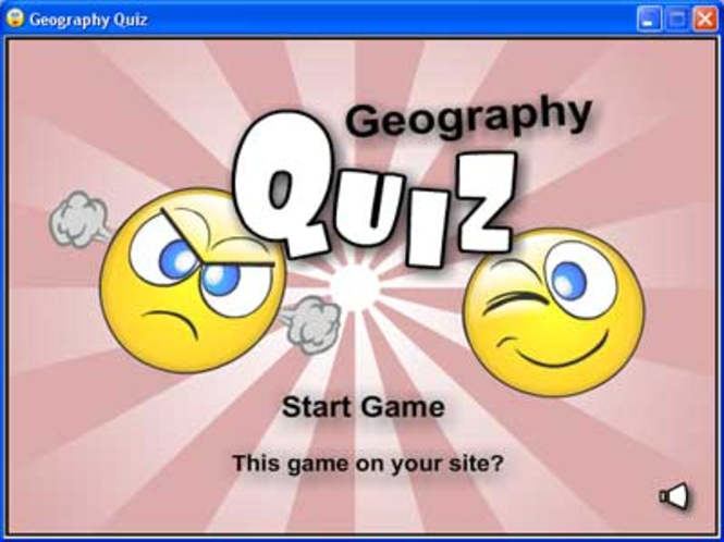 Geography Quiz Screenshot