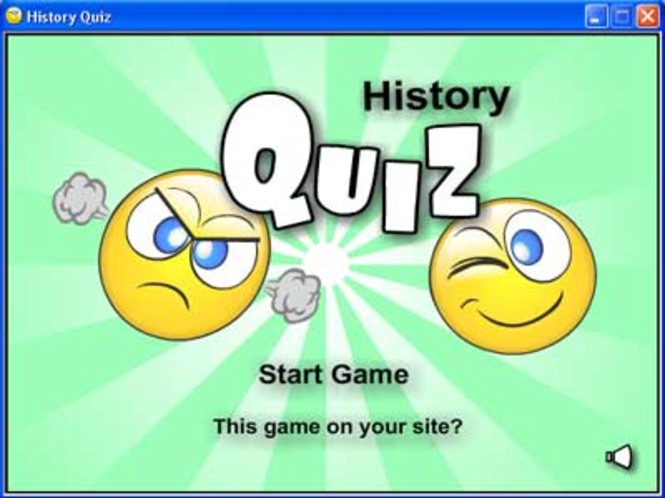 History Quiz Screenshot 1