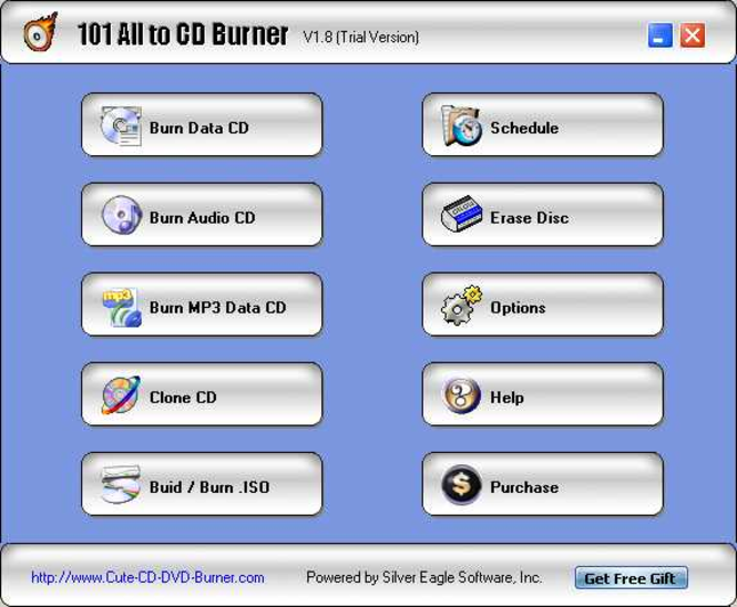 101 All to CD Burner Screenshot