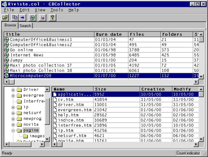 CDCollector Screenshot