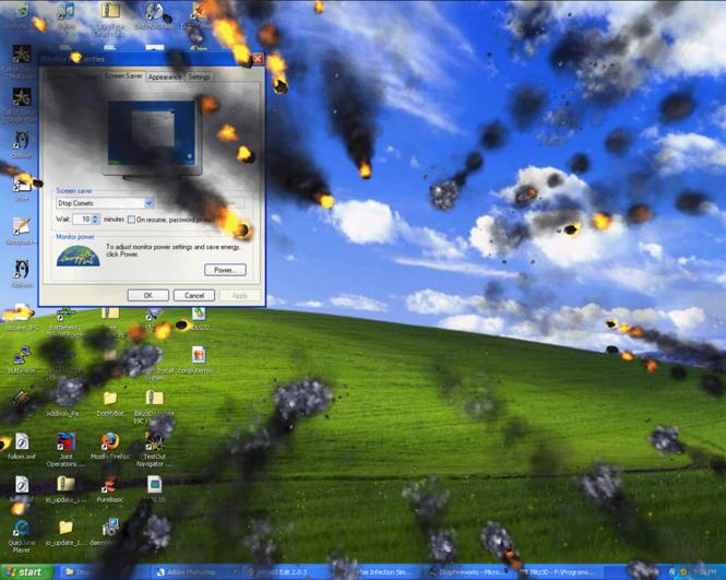 Dtop Comet Saver Screenshot 1