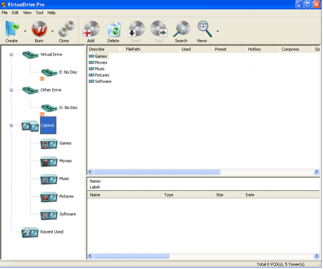 VirtualDrive Pro Screenshot 3