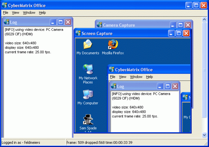 CyberMatrix Office Screenshot