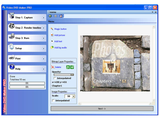 Video DVD Maker PRO Screenshot 1