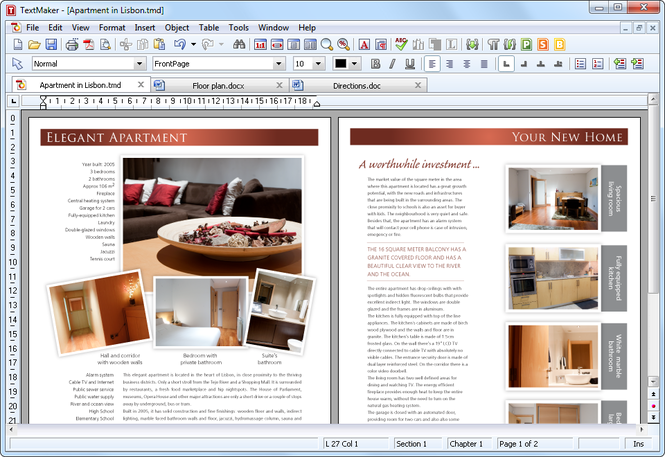 SoftMaker Office for Linux Screenshot 1