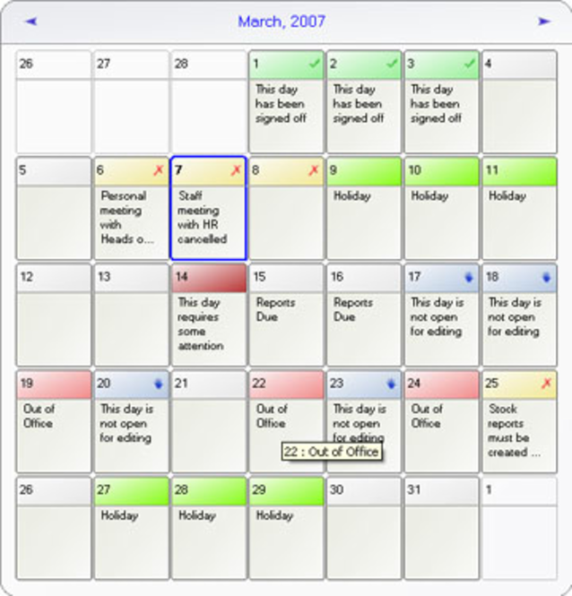 AICalendar Screenshot