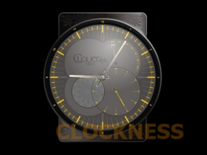 Clover Clock Screensaver Screenshot