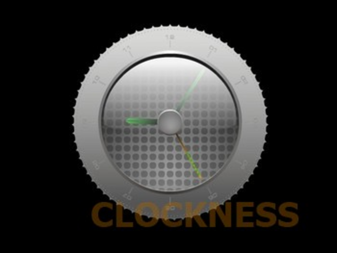 Luma Clock Screensaver Screenshot