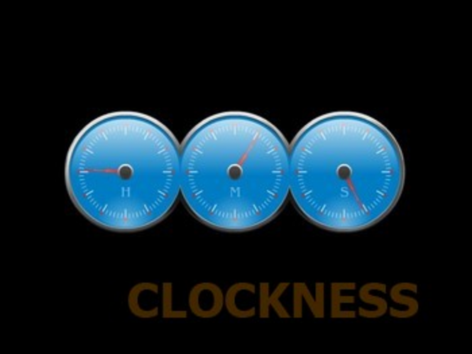 HMS Clock Screensaver Screenshot