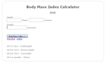 Weight Loss Calculator 1