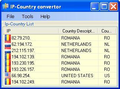 Ip to Country Convertor 1
