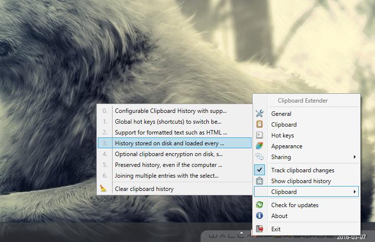Clipboard Extender Screenshot 4