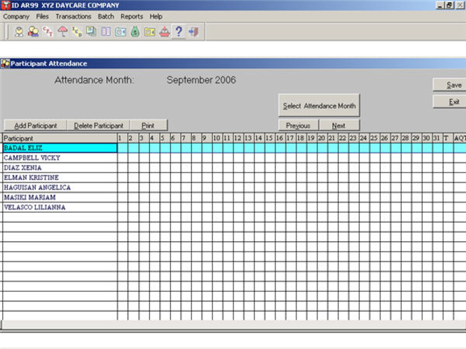 GCS DayCare Screenshot 1