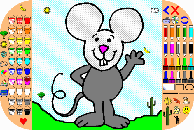 Coloring Pages Screenshot