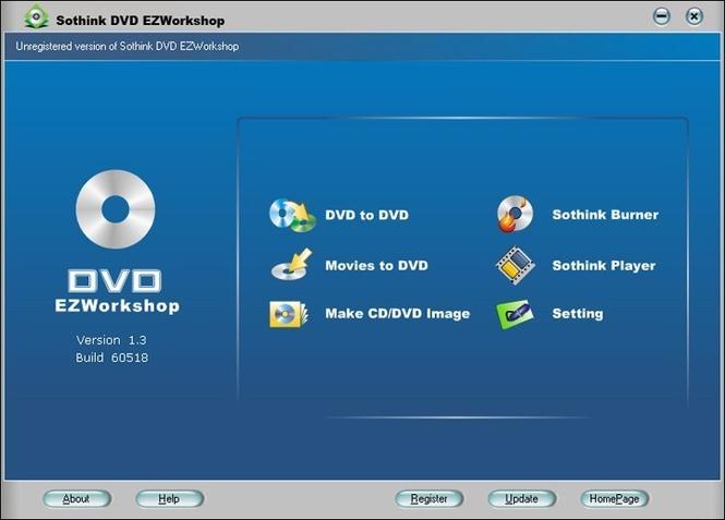 Sothink DVD EZWorkshop+iPod Video Suite Screenshot 1