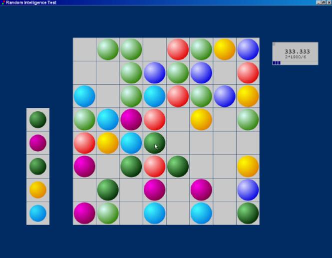 Random Intelligence Test Screenshot 1
