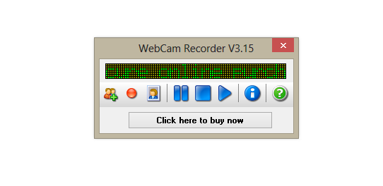 WebCam Recorder Screenshot