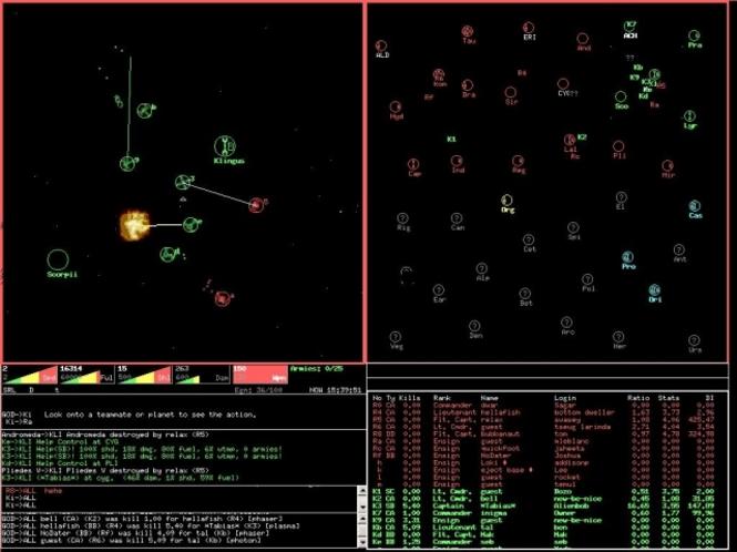Netrek Classic Screenshot