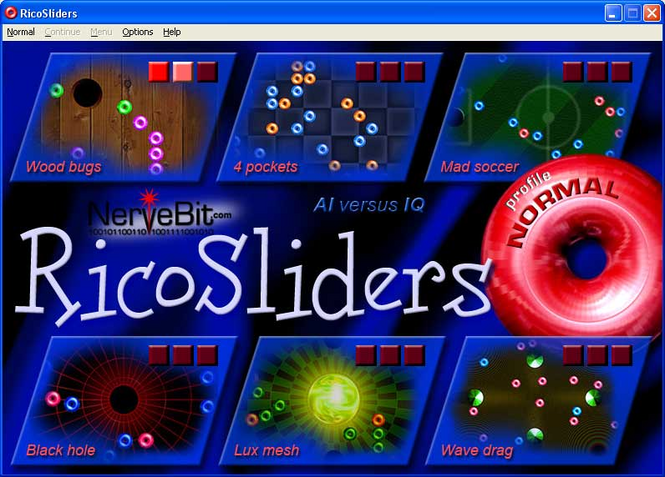 RicoSliders Screenshot