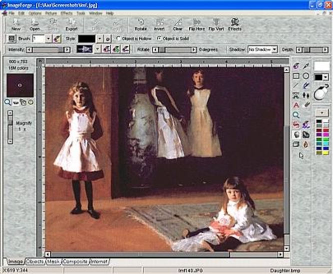 ImageForge PRO (Deutsche Version) Screenshot 1