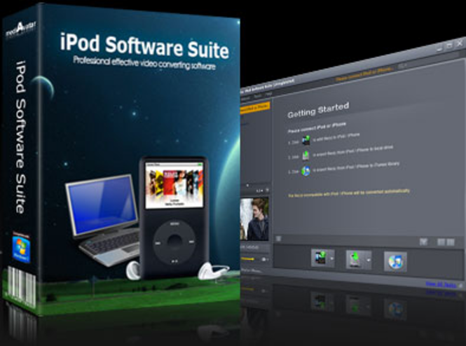 mediAvatar iPod Software Suite Screenshot