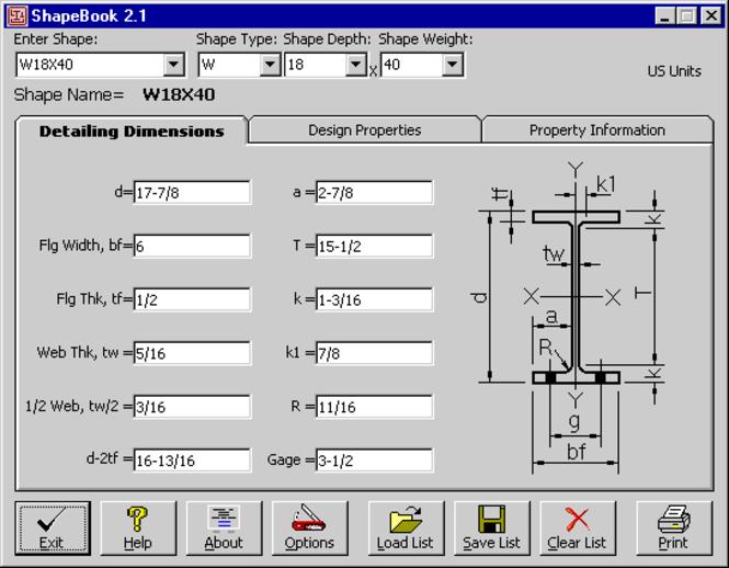 ShapeBook 2009 Screenshot 1