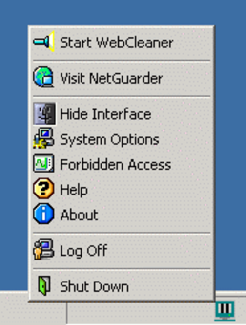WebCleaner Screenshot