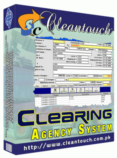 Cleantouch Clearing Agency (CAS) Screenshot 1