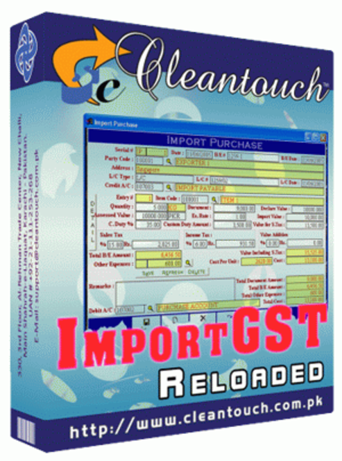 Cleantouch ImportGST Reloaded Screenshot