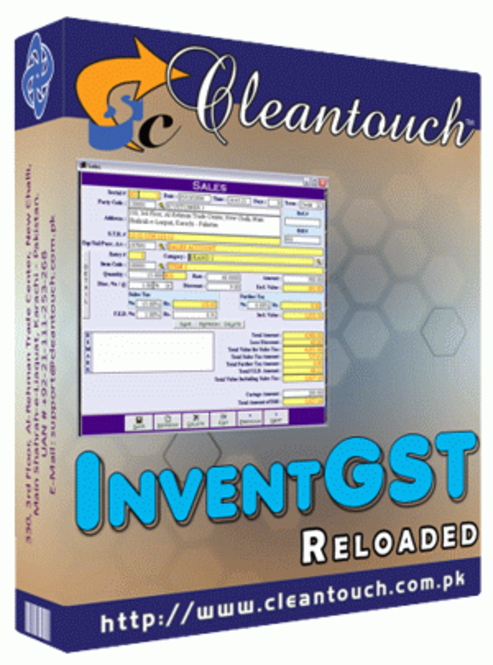 Cleantouch InventGST Reloaded Screenshot
