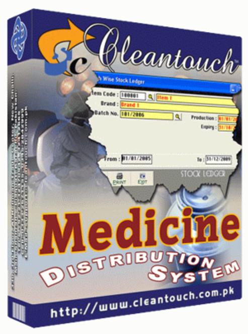 Cleantouch Medicine Distribution System 2.0 Screenshot 1