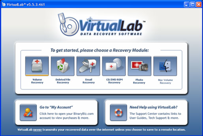 VirtualLab Professional Screenshot 1
