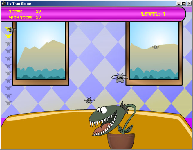 Fly Traps Screenshot