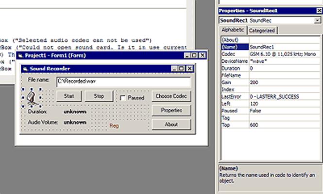 Modem Master ActiveX Component Screenshot