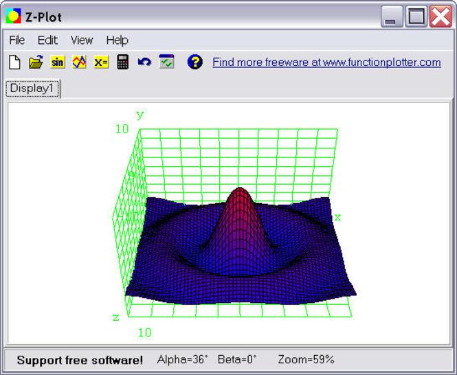 Z-Plot Screenshot
