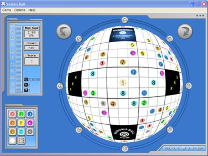Sudoku-Ball(R) Screenshot 1