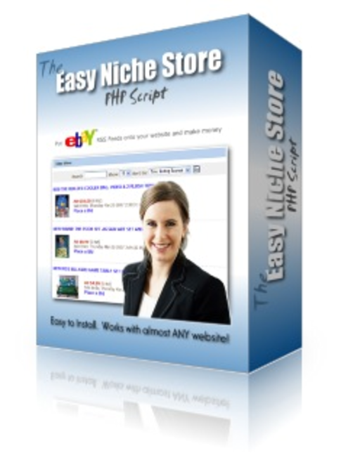 Easy Niche Store Script Screenshot
