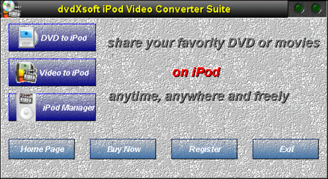 dvdXsoft Zune Video Converter Suite Screenshot