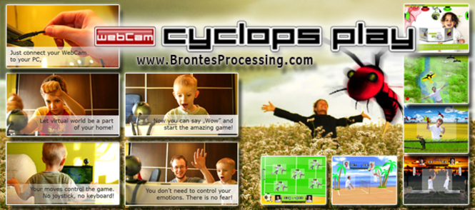 CamGames - WebCam Cyclops PLAY Games Screenshot 1
