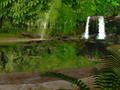 Spring Waterfall 3D Screensaver 1