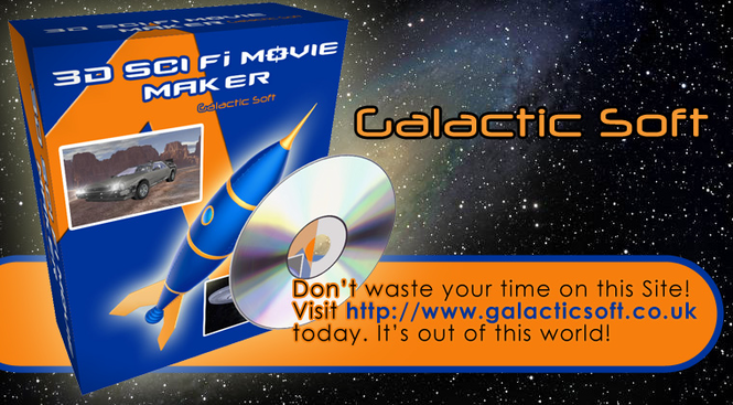 3D Sci-Fi Movie Maker Screenshot