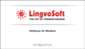 LingvoSoft Dictionary English <-> Turkish for Windows 1