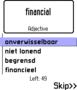 ECTACO FlashCards English <-> Dutch for Nokia 1