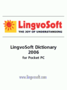 LingvoSoft Dictionary German  Czech for Pocket PC 1