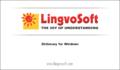 LingvoSoft Dictionary English <-> Croatian for Windows 1