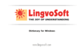 LingvoSoft Dictionary English <-> Hebrew for Windows 1