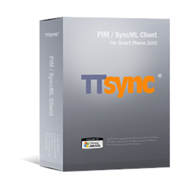 TTSync SyncML Client for Smartphone 2005 Screenshot 1