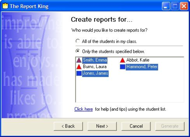 The Report King Screenshot