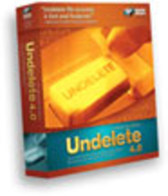 UNDELETE® for English Home Users Screenshot 1
